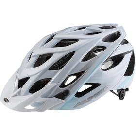 Alpina D-Alto Cykelhjelm, white-blue-silver